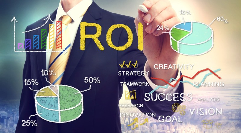 Image depicting ROI for SEO projects